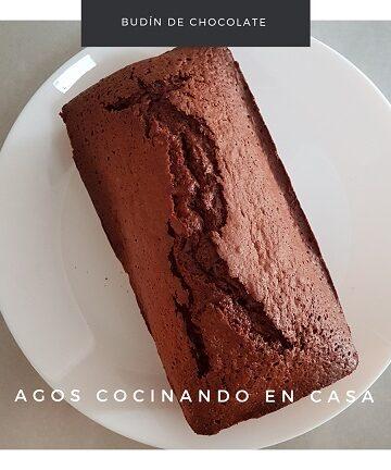 Receta de budín de chocolate