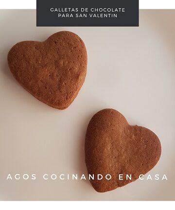 Receta de galletas de San Valentín