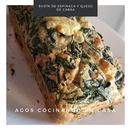 Receta de Budín de espinaca y queso