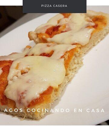 receta de pizza casera