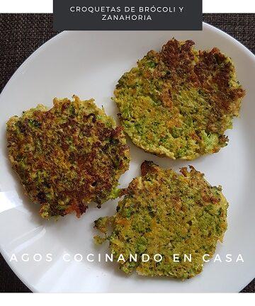 Croquetas de brócoli y zanahoria
