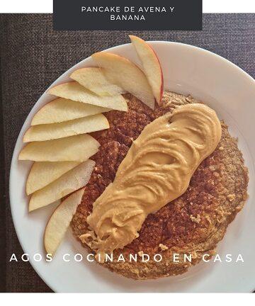 Pancake de Avena y Banana